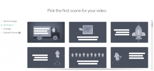 Pick a scene for your video