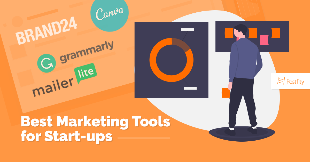 Best marketing tools for startups Postfity