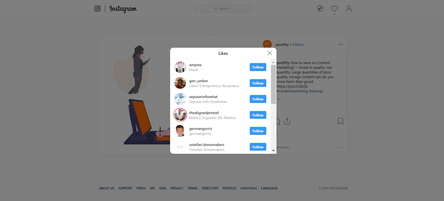 Instagram is killing the 'like', Facebook will tell your