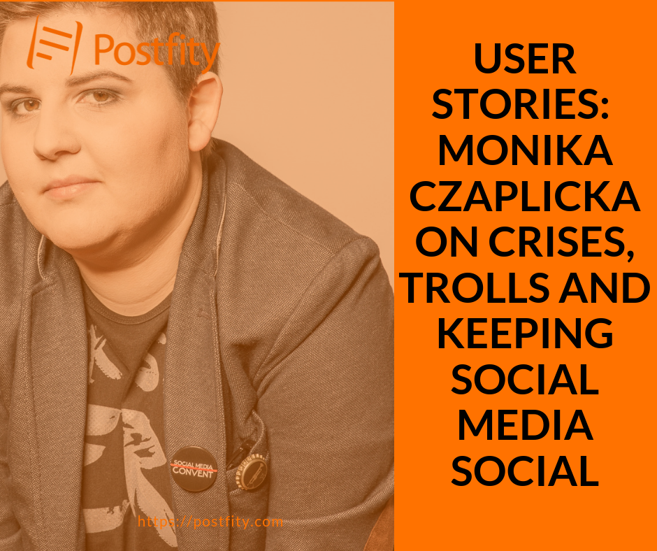 Monika Czaplicka Postfity User Stories