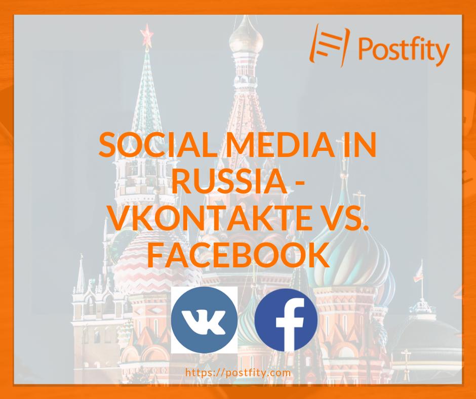 facebook vs vkontakte - Postfity blog