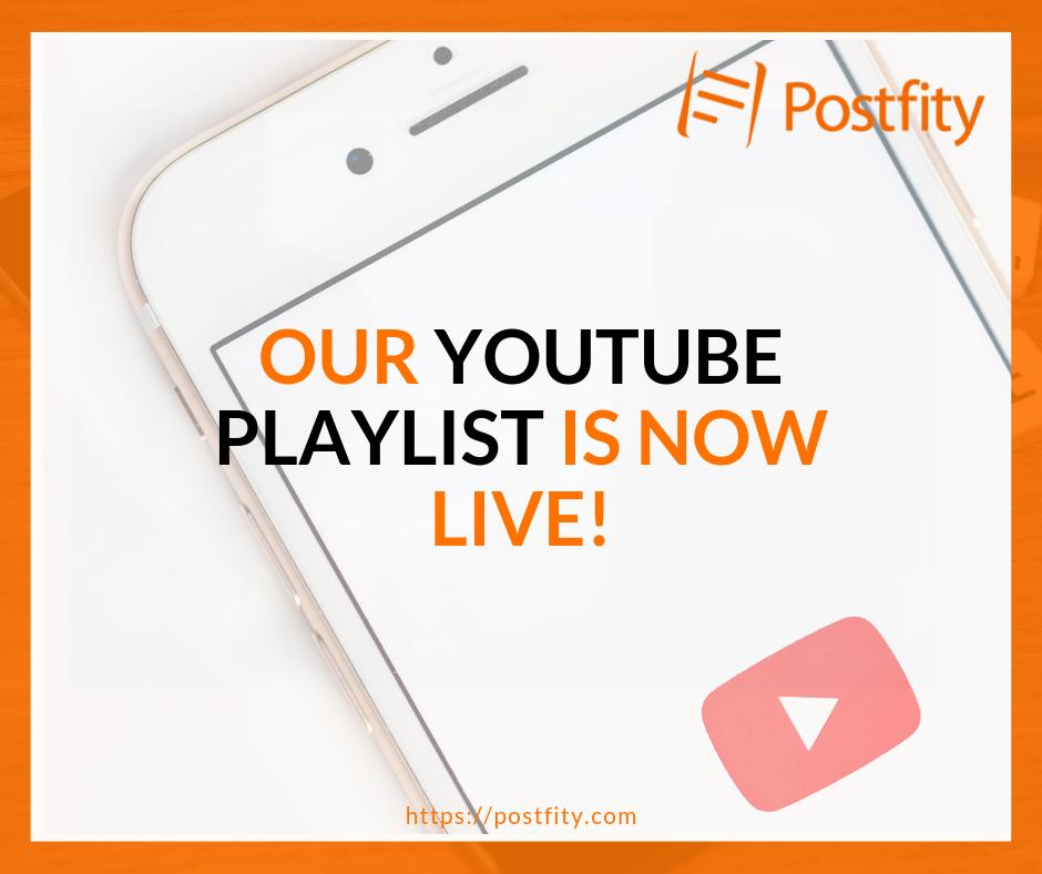 youtube postfity