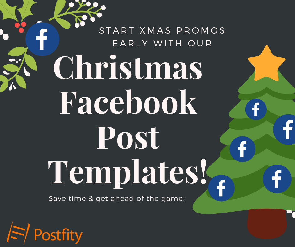 Christmas Facebook Post Templates