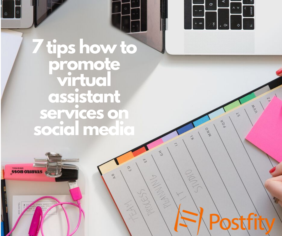 How to promote VA services on social media