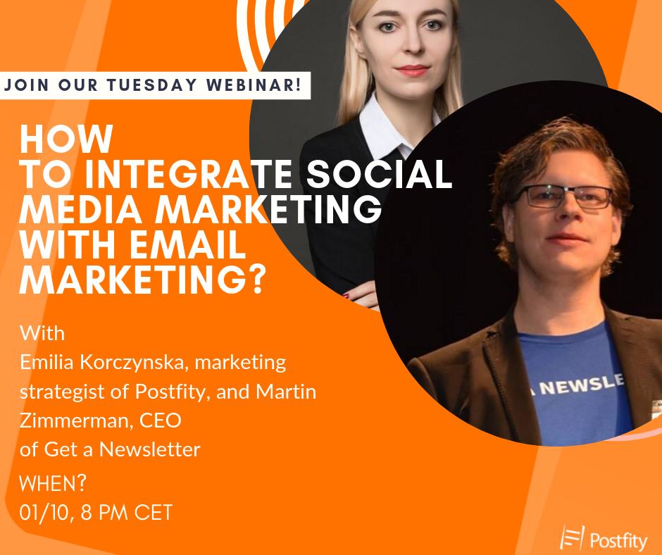 Email Marketing + Social Media Webinar