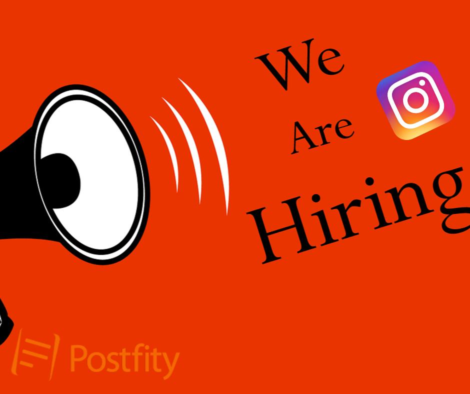 Promote Job Offers on Instagram