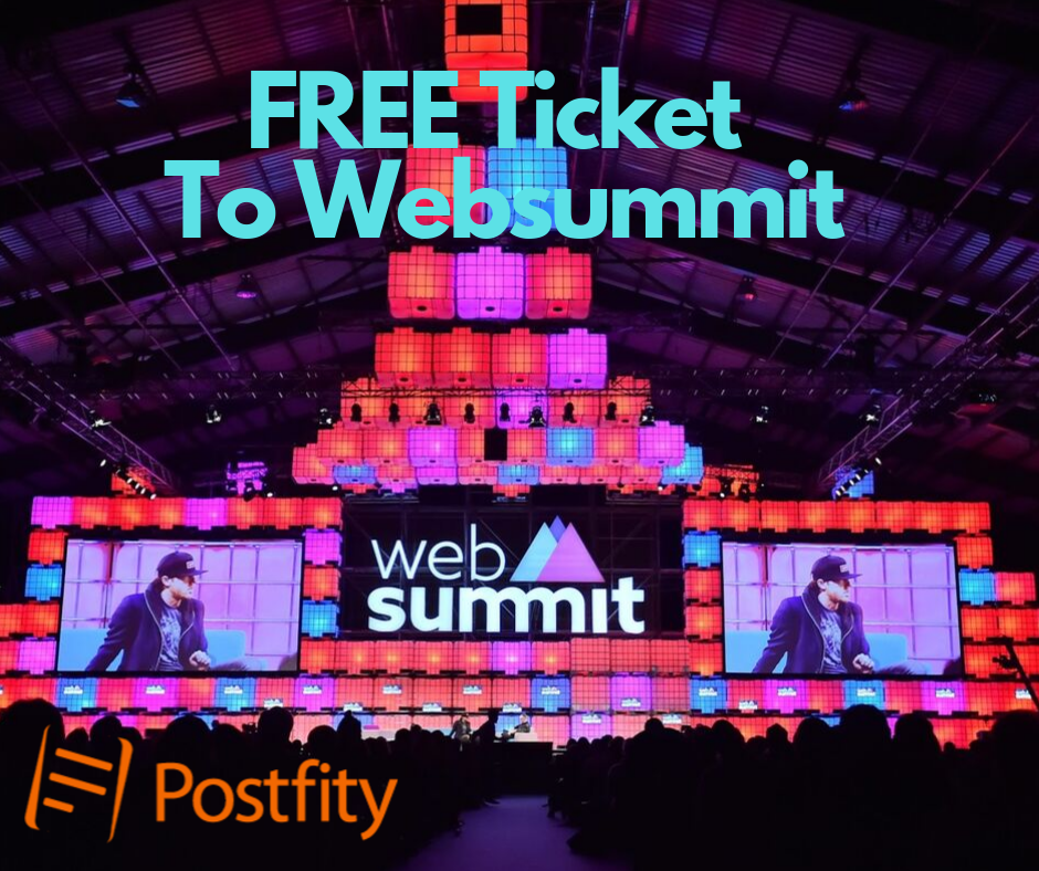 Win Free Ticket to Websummit