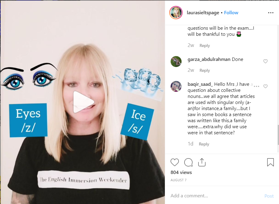 how to promote a language school on social media