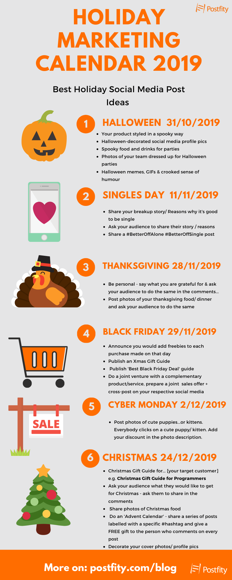 Holiday Marketing Calendar 2019