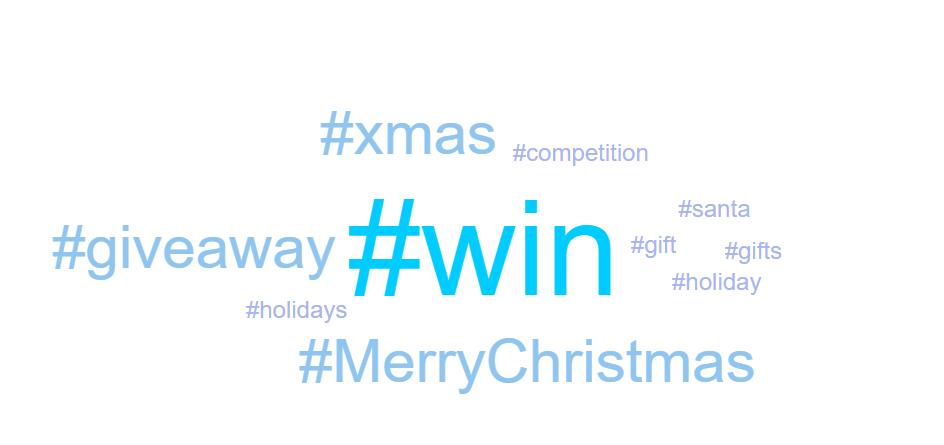 Christmas ecommerce hashtags