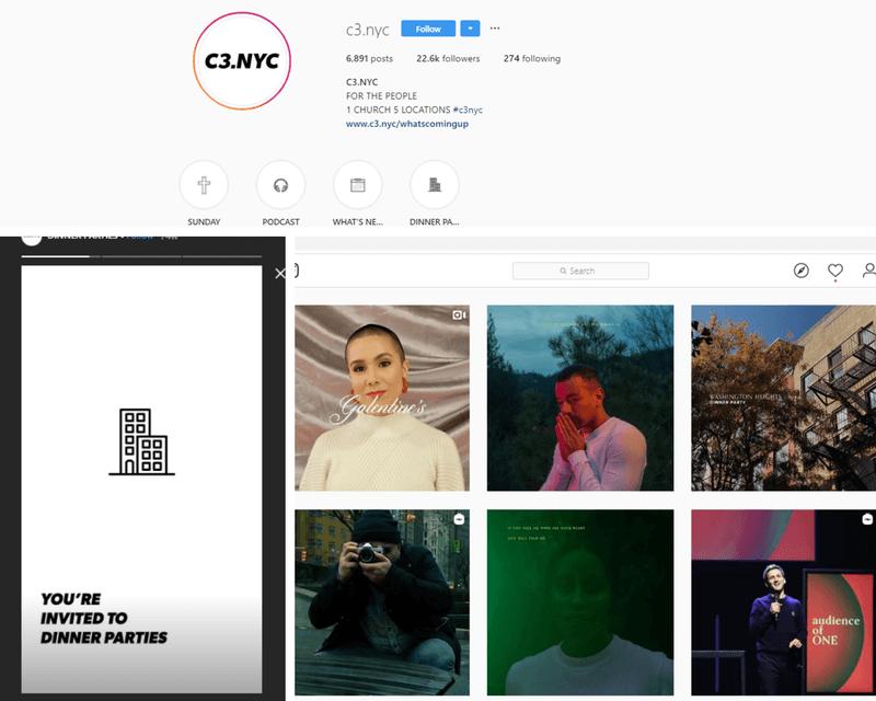 examples of C3.NY social media