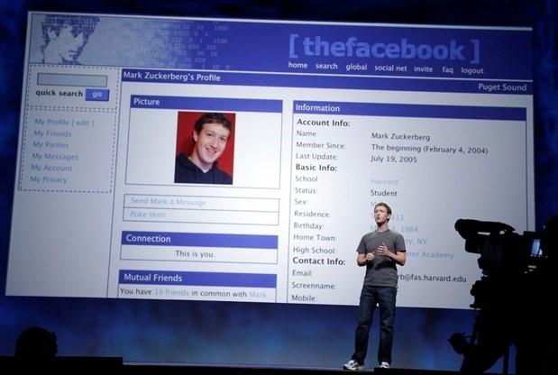 Facebook - history of social media postfity