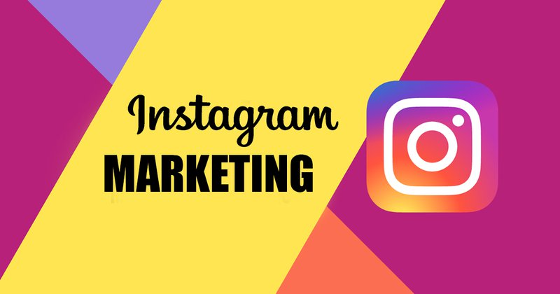 Instagram Marketing with logo and coordinating colors