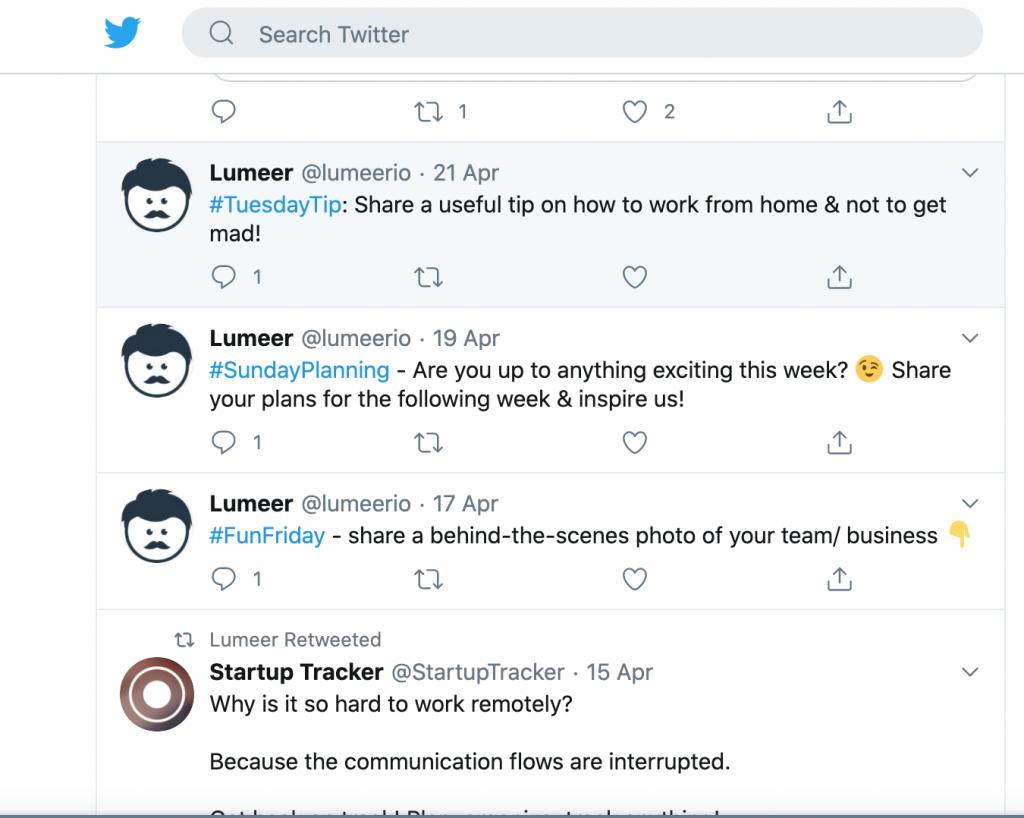 Lumeer Twitter