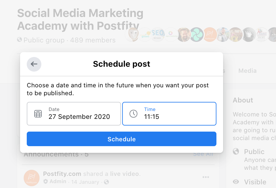 How to automate posts in FB groups 2