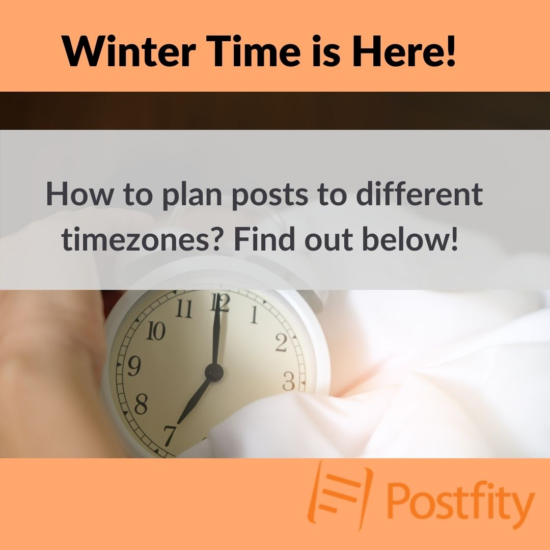 Planning posts to different timezones